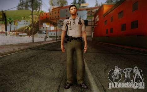 Alex Shepherd From Silent Hill Police для GTA San Andreas