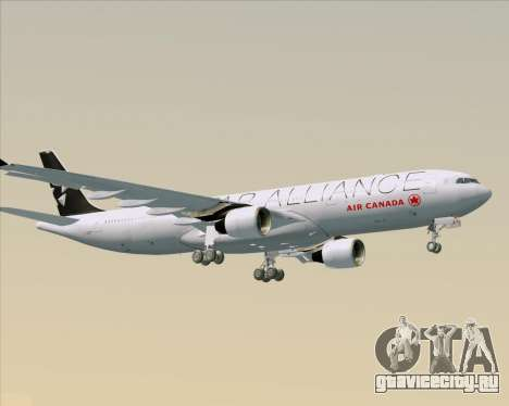 Airbus A330-300 Air Canada Star Alliance Livery для GTA San Andreas