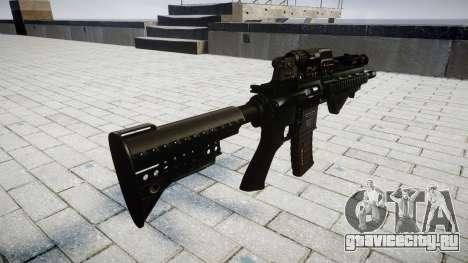 Винтовка HK416 CQB для GTA 4 второй скриншот