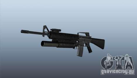 Винтовка M16A2 M203 sight1 для GTA 4