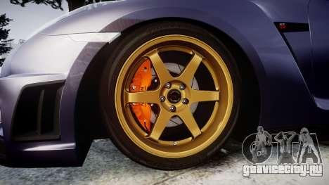 Nissan GT-R R35 2012 для GTA 4 вид сзади