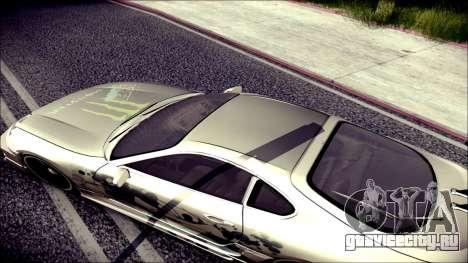 Toyota Supra Street Edition для GTA San Andreas вид изнутри