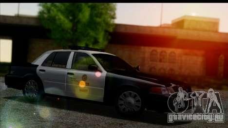 LAPD Ford Crown Victoria Whelen Lightbar для GTA San Andreas