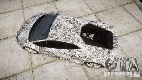 Lamborghini Huracan LP610-4 2015 Sharpie для GTA 4 вид справа