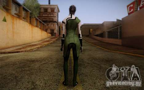 Liara T Soni Scientist Suit from Mass Effect для GTA San Andreas второй скриншот