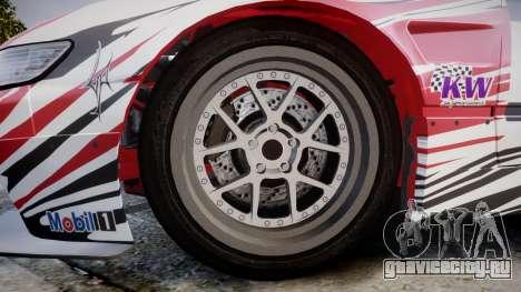 Nissan 240SX S13 D. Yoshihara HD для GTA 4 вид сзади