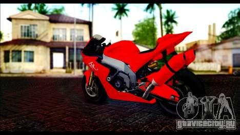 Shitzu Hackuchou from GTA 5 для GTA San Andreas вид слева