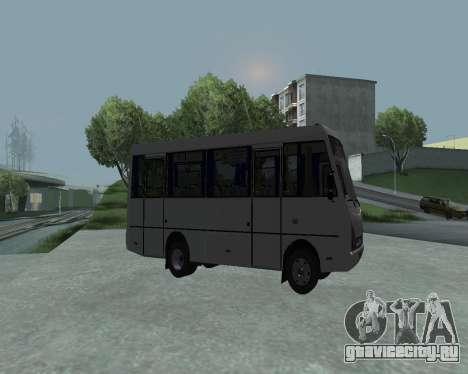 I-Van A07A для GTA San Andreas вид слева