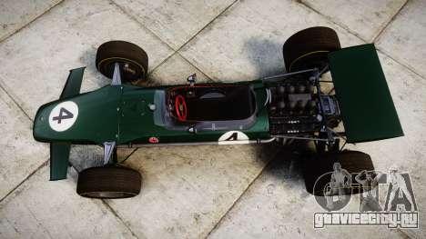 Lotus Type 49 1967 [RIV] PJ3-4 для GTA 4 вид справа