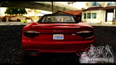 GTA 5 Hijak Khamelion IVF для GTA San Andreas вид справа