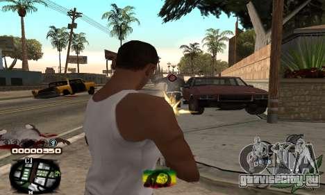 C-HUD Rasta для GTA San Andreas третий скриншот