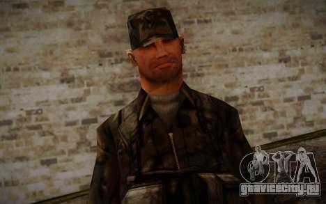 Soldier Skin 4 для GTA San Andreas третий скриншот