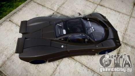 Pagani Zonda C12 S 7.3 2002 PJ4 для GTA 4 вид справа