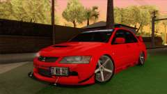 Mitsubishi Lancer Evolution VIII MR для GTA San Andreas