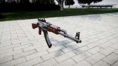 Автомат АК-47 Collimator для GTA 4