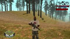 C-HUD by Kir4ik для GTA San Andreas