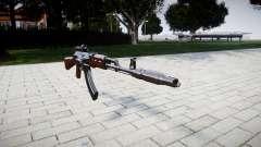 Автомат АК-47 Collimator and Muzzle brake для GTA 4