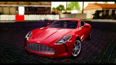 Aston Martin One-77 Black Beige для GTA San Andreas
