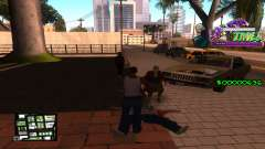 C-HUD Ghetto Tawer для GTA San Andreas