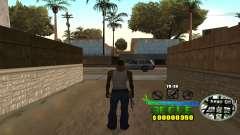 C-HUD Groove Street для GTA San Andreas
