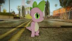 Spike from My Little Pony для GTA San Andreas