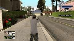 C-HUD Shark для GTA San Andreas