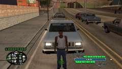 C-HUD Smoke Weed для GTA San Andreas