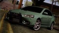 Mitsubishi Lancer Evolution FQ-400 для GTA San Andreas