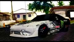 Nissan 180SX Monster Energy для GTA San Andreas