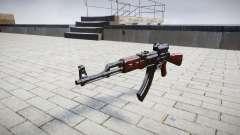 Автомат АК-47 Collimator target