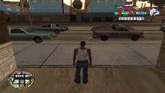 C-HUD Color для GTA San Andreas