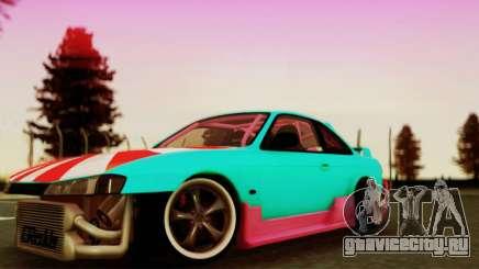Nissan Silvia S14 купе для GTA San Andreas