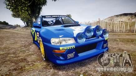 Subaru Impreza WRC 1998 v4.0 World Rally для GTA 4