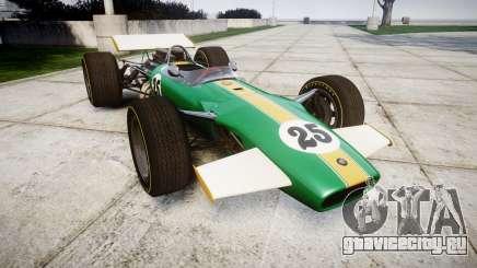 Lotus Type 49 1967 [RIV] PJ25-26 для GTA 4