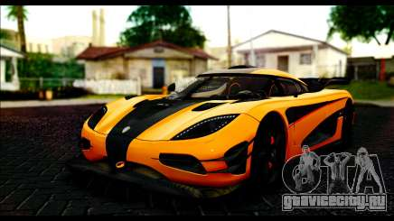 Koenigsegg One:1 v2 для GTA San Andreas