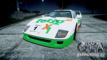 Ferrari F40 1987 [EPM] Jolly Club для GTA 4