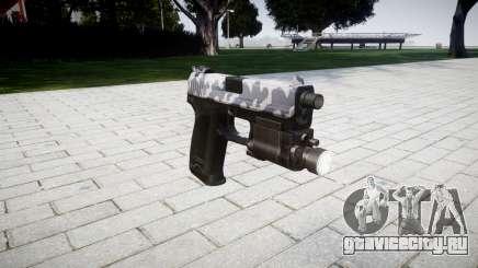 Пистолет HK USP 45 siberia для GTA 4