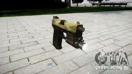 Пистолет HK USP 45 flora для GTA 4