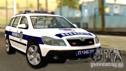 Skoda Octavia Scout Police для GTA San Andreas
