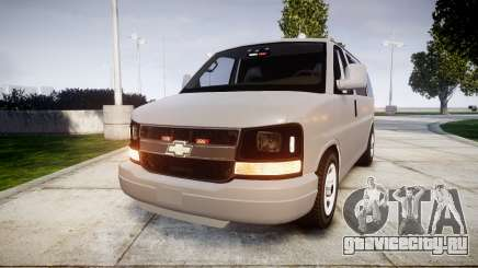 Chevrolet Express 2013 NYPD [ELS] unmarked для GTA 4