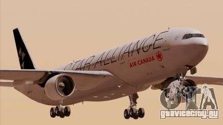 Airbus A330-300 Air Canada Star Alliance Livery для GTA San Andreas