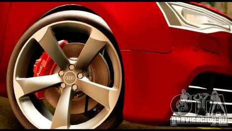 Audi RS5 2013 для GTA San Andreas вид справа