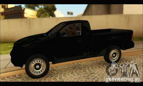Volkswagen Amarok Cabina Simple для GTA San Andreas вид слева