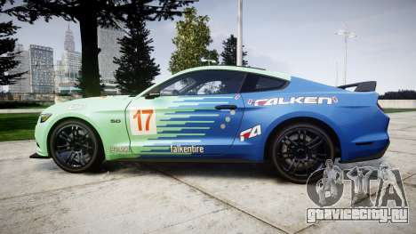 Ford Mustang GT 2015 Custom Kit falken для GTA 4 вид слева