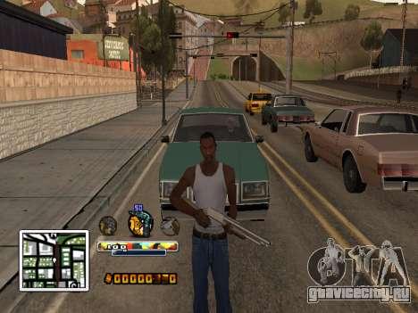 C-HUD Color (улучшение) для GTA San Andreas