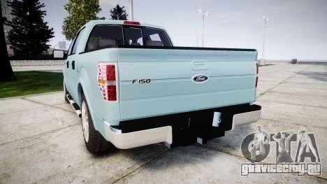 Ford Lobo 2012 для GTA 4 вид сзади слева