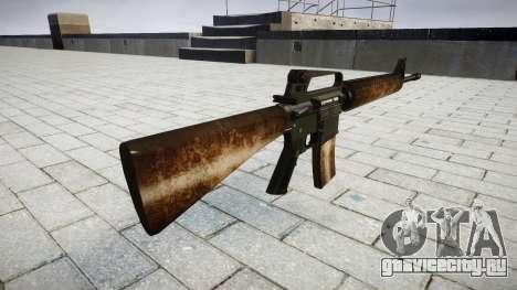 Винтовка M16A2 dusty для GTA 4 второй скриншот