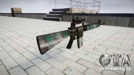 Винтовка M16A2 [optical] warsaw для GTA 4 второй скриншот