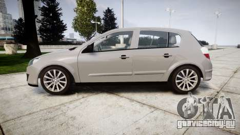 Vauxhall Astra 2009 Police [ELS] Unmarked для GTA 4 вид слева