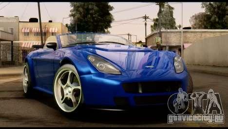 GTA 5 Dewbauchee Rapid GT Cabrio [HQLM] для GTA San Andreas